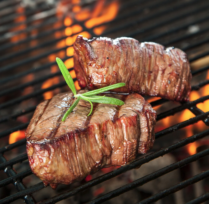 Grilling Tips and Tricks tenderloin steak on the grill