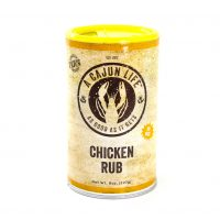 The Cajun Life Chicken Rub