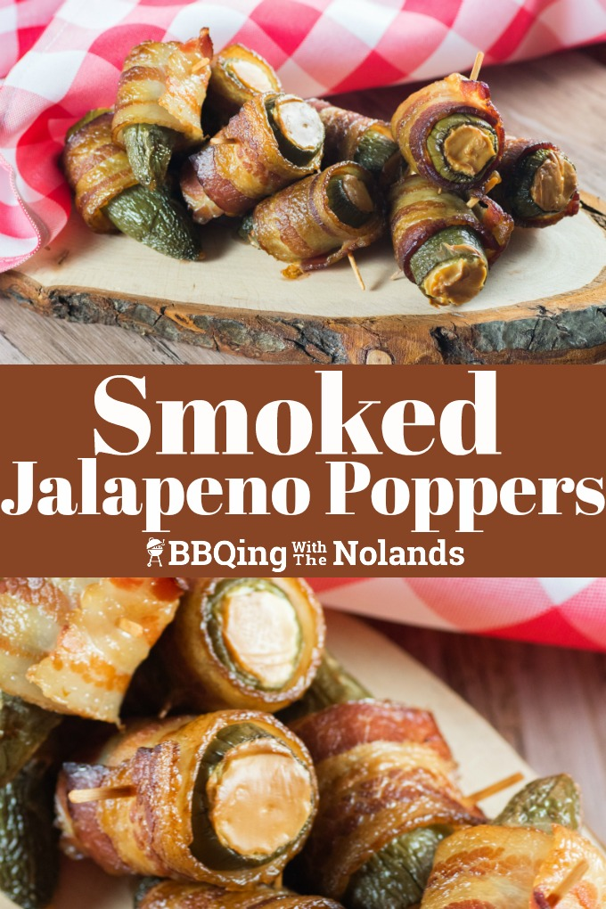These smoked jalapeno poppers are an extraordinary treat that you and your guests are going to love #smoked #jalapenopopper #baconwrapped #creamcheese