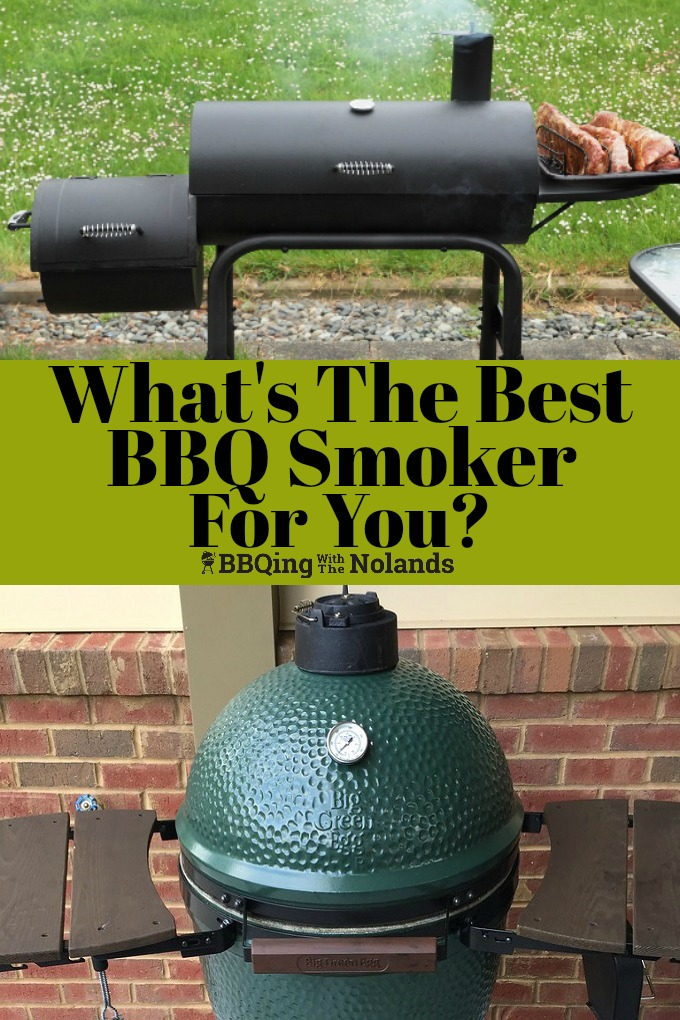 Whats the best smoker for you to get, here are some things to consider when you are thinking about getting one! #smoker #BBQ #bestsmoker #smokedmeat