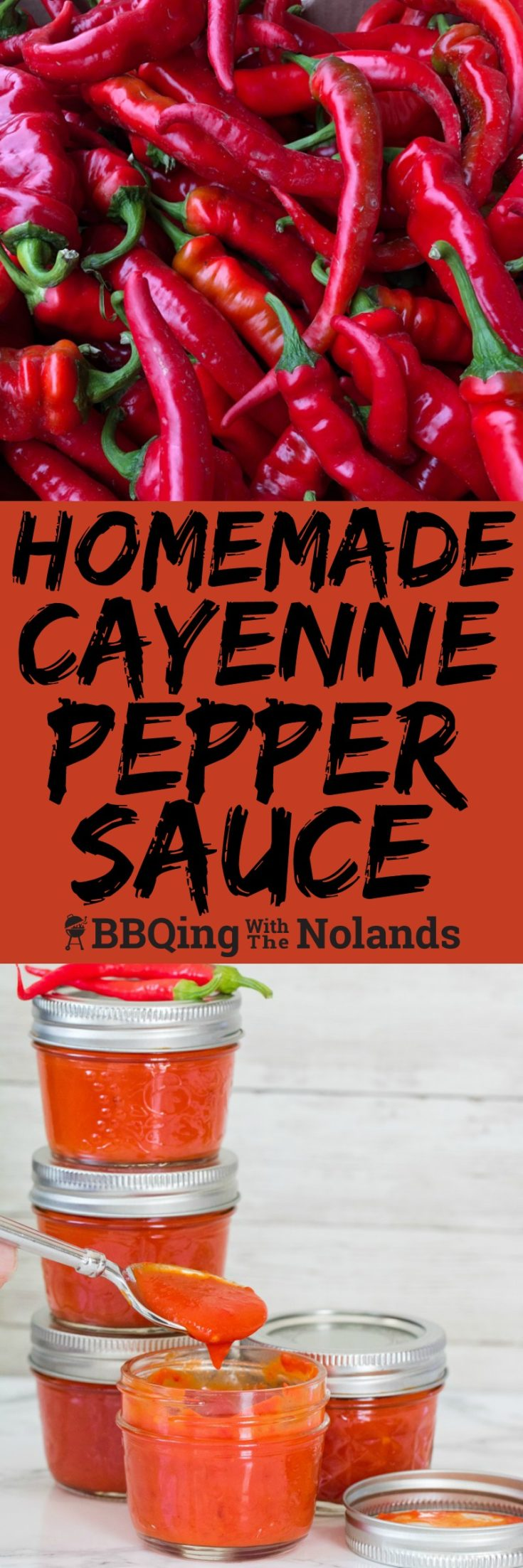 Homemade cayenne pepper sauce is a great way to preserve the spicy cayenne peppers you get all summer, and after all, what could be better than making your own hot sauce!