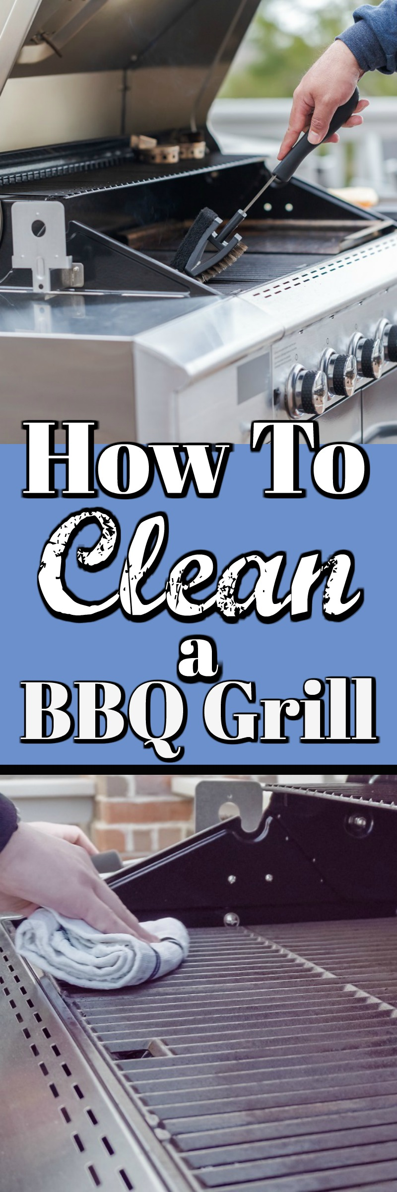 How to a Clean BBQ Grill - Spring Cleaning, something that might be forgotten in your Spring clean but shouldn't be! #Grill Cleaning #Spring Cleaning #BBQ Grill Cleaning