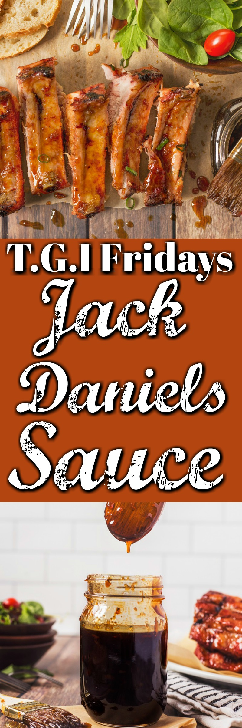 TGI Fridays Jack Daniels Sauce is perfect for ribs, chicken, burgers or just straight from the jar! #TGIF #JackDanielssauce #JDSauce #jackdaniels