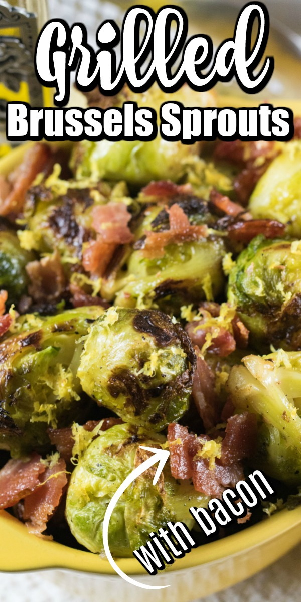 Spring is the time to cook up some grilled vegetables, and there is nothing better tasting than Grilled Brussels Sprouts! #Brusselssprouts #grilling