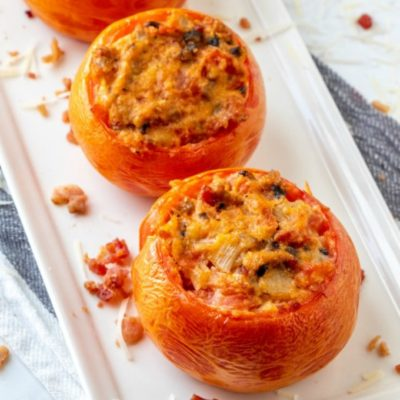Stuffed Smoked Tomatoes