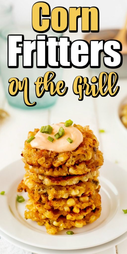 Corn Fritters are stuffed with flavor, fresh sweet roasted corn, onion, and just a hint of jalapenos.