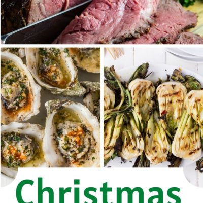 Christmas Dinner on the BBQ