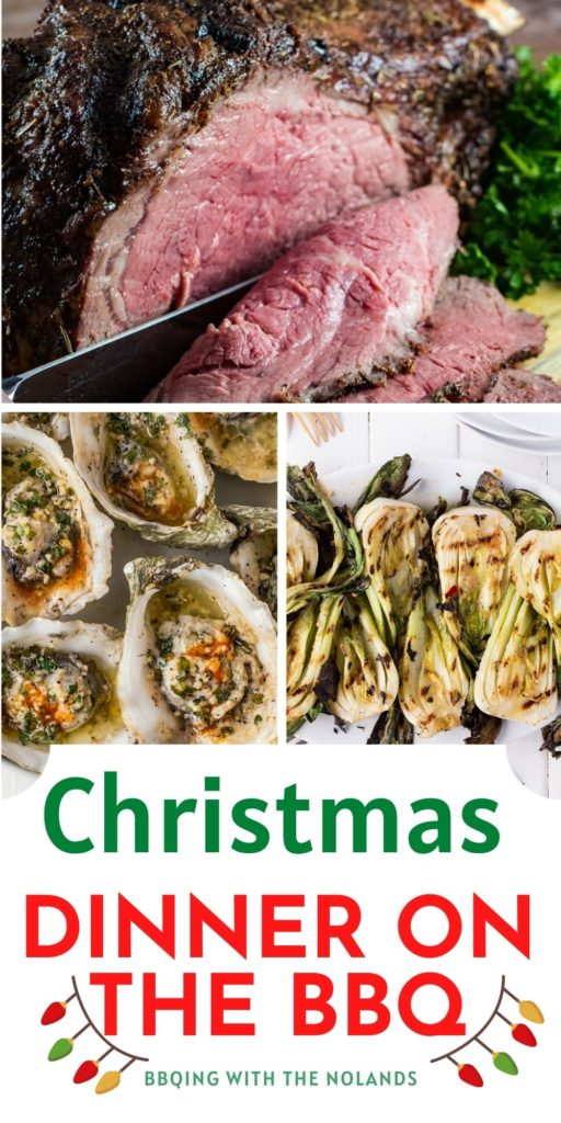 Christmas is less than a month away! Have you thought about cooking Christmas Dinner on the BBQ?