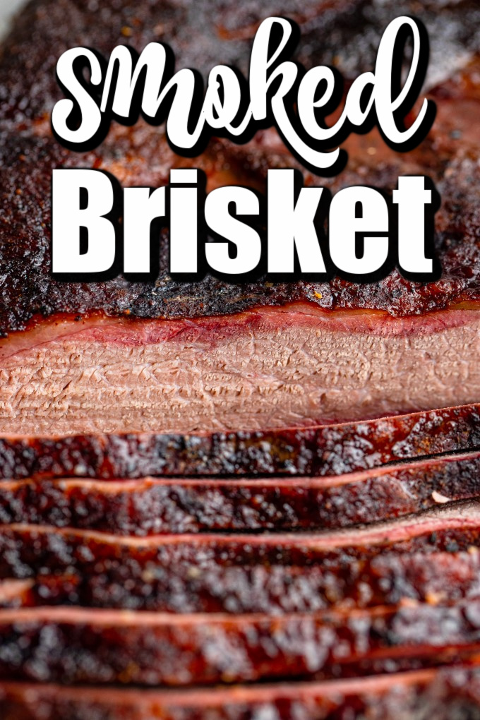 SMOKED BRISKET, I think, is the quintessential smoked meat; it melts in your mouth and is packed with flavor from the smoke and the dry rub!