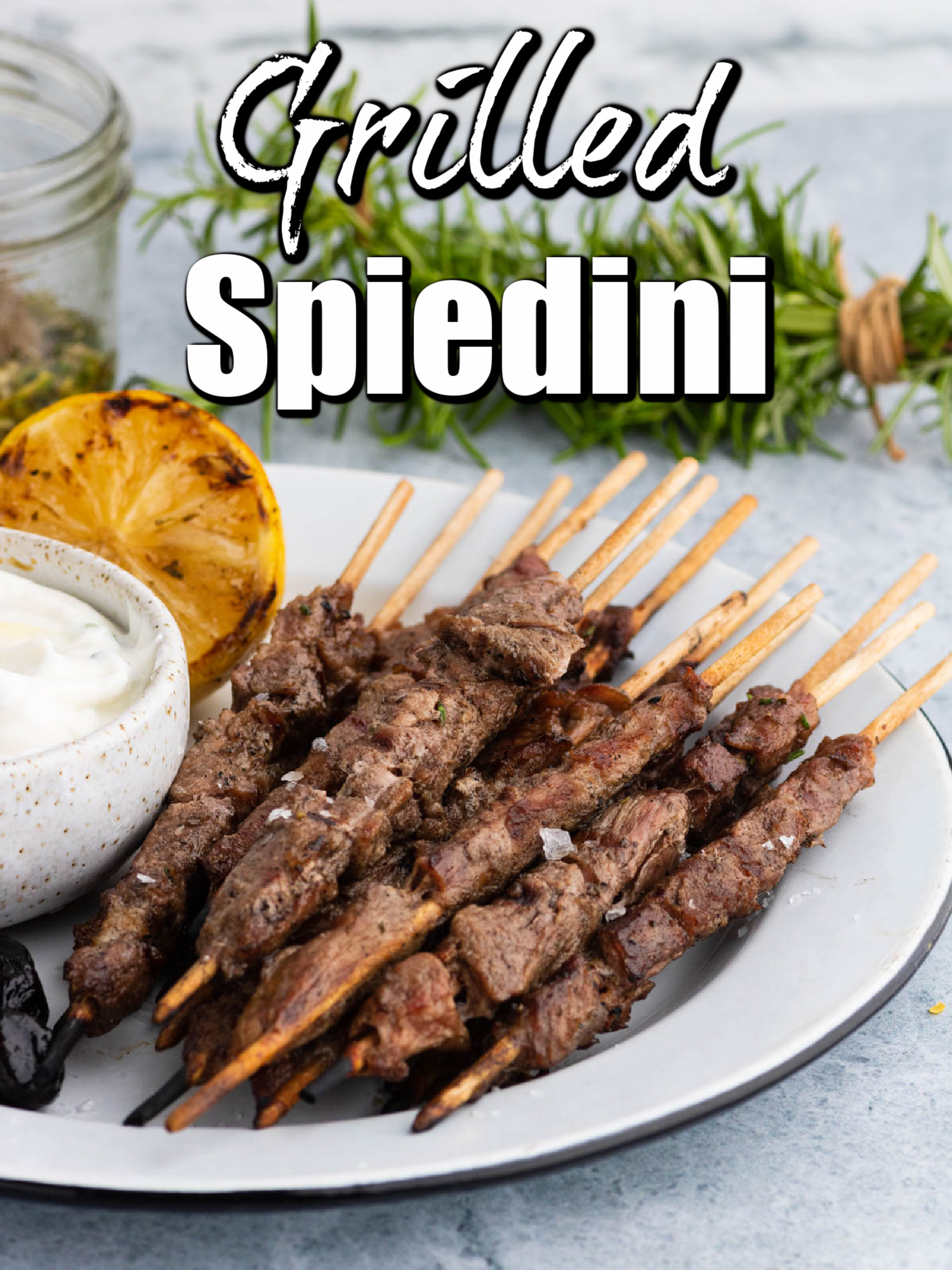 Grilled Spiedini is a quick, easy dinner or appetizer that tastes amazing!