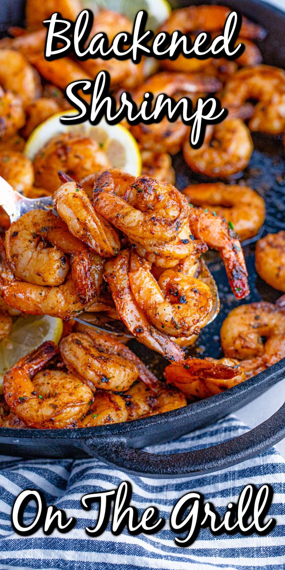 The blackening spices in this blackened shrimp recipe will put some pop into your shrimp!