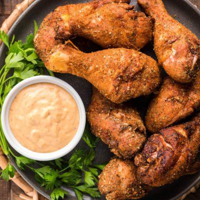 Dry Rub Smoked Chicken Drumsticks