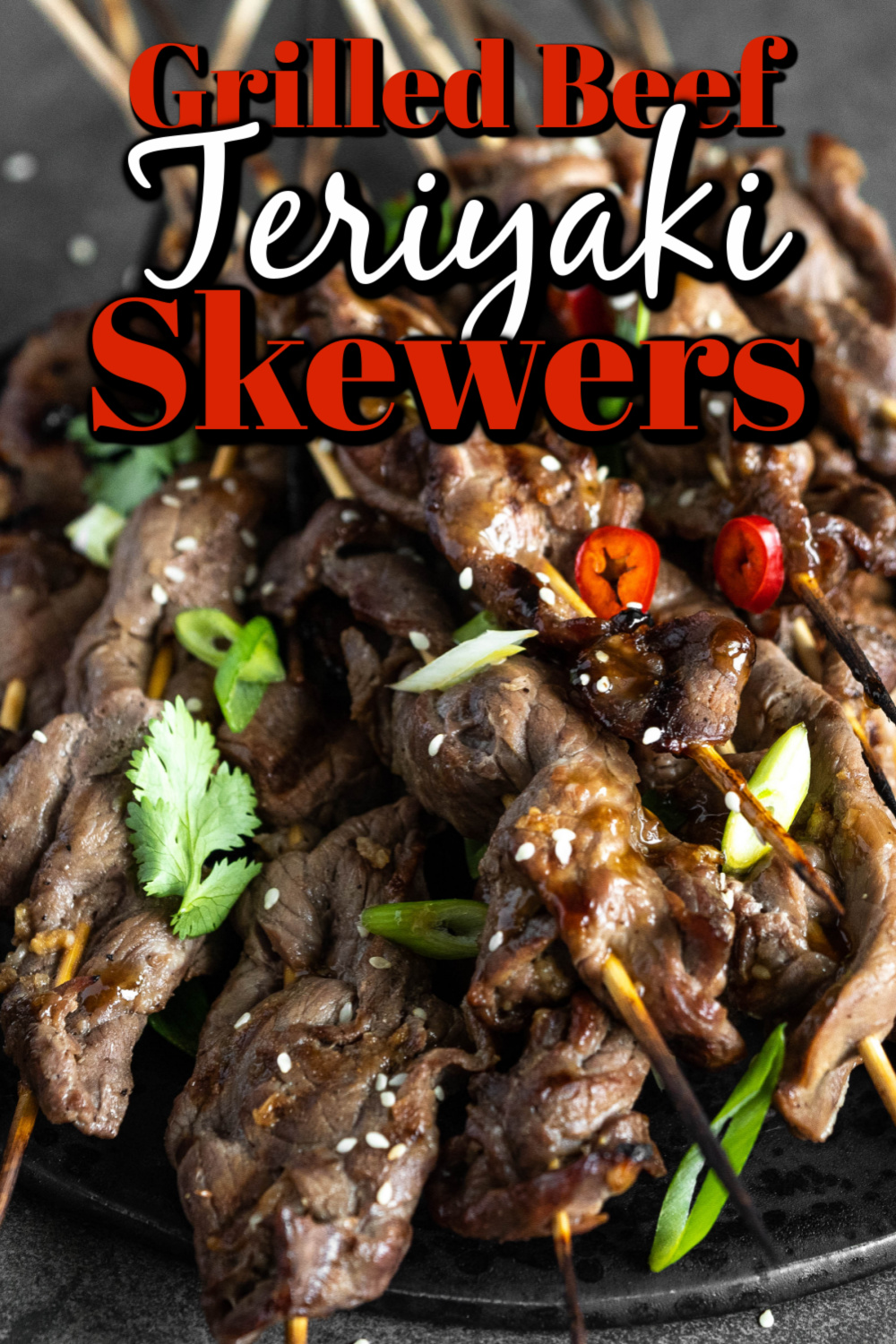 These Grilled Beef Teriyaki Skewers are full of Asian-inspired flavors that you are going to love. Did I mention they are easy to prepare!