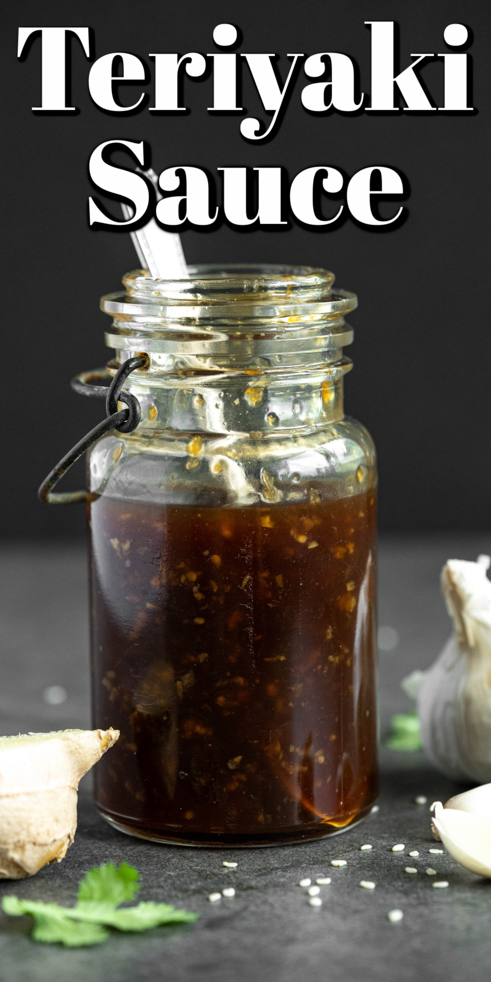 This homemade teriyaki sauce is easy to prepare and the taste is simply amazing!