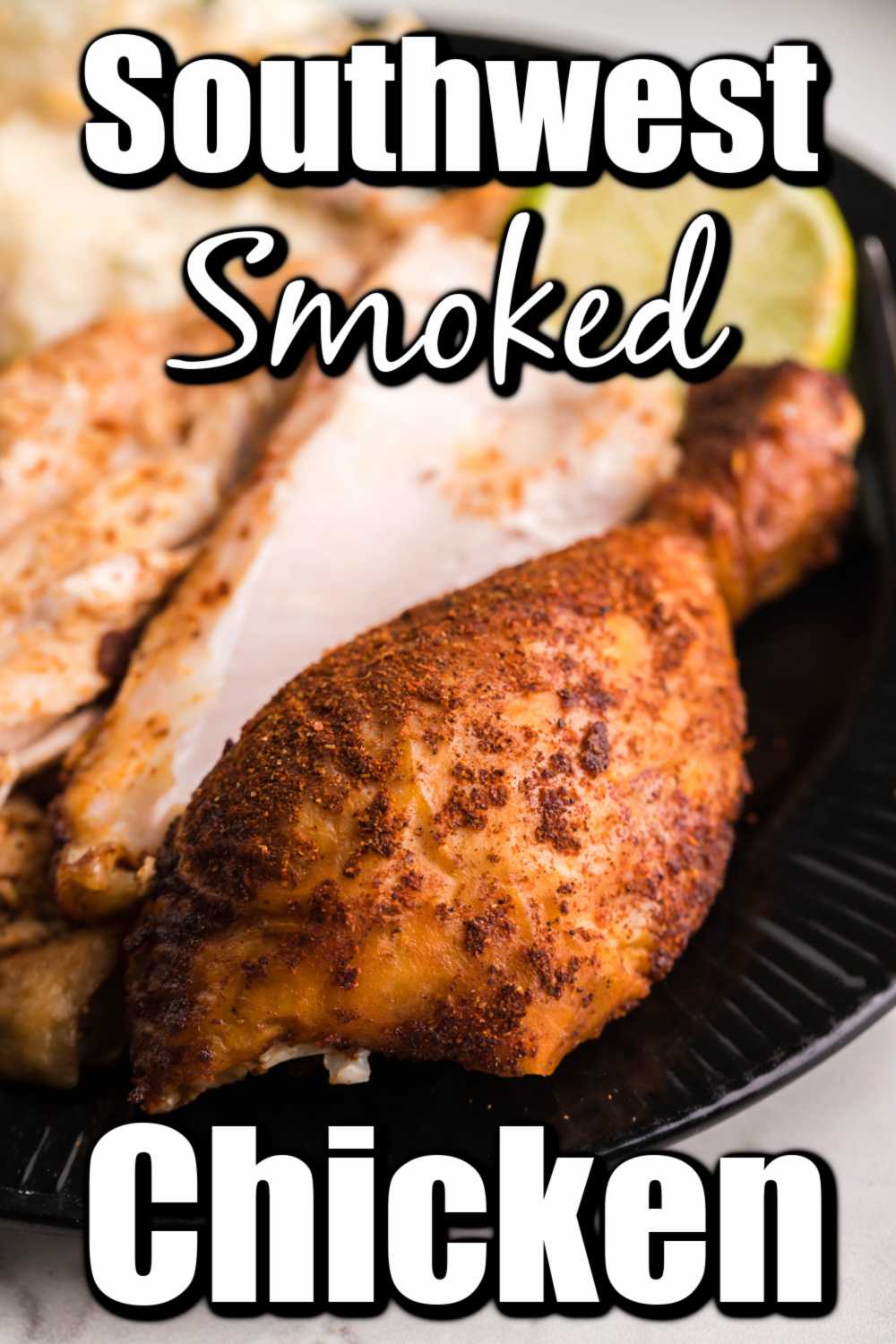 This fantastic whole smoked chicken is tender, juicy, and will have everyone coming back for seconds!